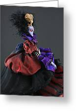 Mad Queen Greeting Card