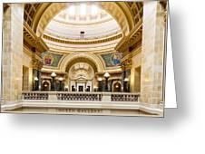Madison Capitol Greeting Card