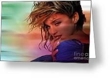 Madonna Art Greeting Card