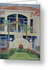 Marco Island Condo Greeting Card