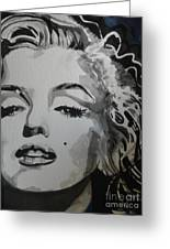 Marilyn Monroe 01 Greeting Card