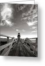 Marshall Point Light Greeting Card