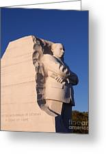 Martin Luther King Memorial Greeting Card