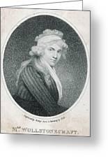 Mary Wollstonecraft Godwin Greeting Card