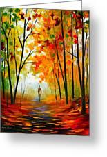 Melody Of Autumn Greeting Card