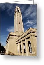 Memorial Tower - Lsu Greeting Card