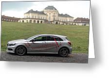 Mercedes Benz A-class Greeting Card