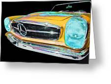 Mercedes Benz Greeting Card