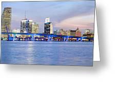 Miami 2004 Greeting Card by Patrick M Lynch