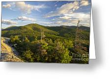 Middle Sugarloaf Mountain - Bethlehem Nh Usa Greeting Card