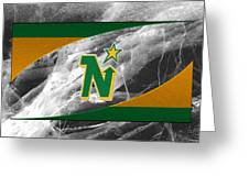 Minnesota North Stars Greeting Card