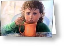 Mocha Latte Greeting Card