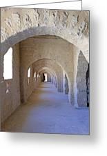 Monastir Ribat Greeting Card