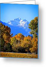 Montana Fall Greeting Card
