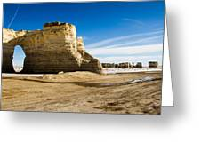 Monument Rocks Of Kansas Greeting Card