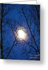 Moon Greeting Card by Jennifer Kimberly