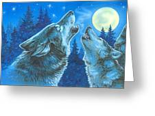 Moon Song Greeting Card