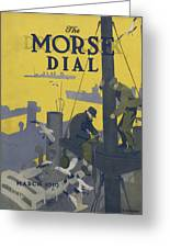 Morse Dry Dock Dial Greeting Card by Edward Hopper