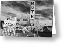 2 Motels Greeting Card
