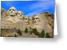 Mount Rushmore South Dakota Greeting Card