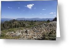 Mount Tallac Trailhead  Greeting Card