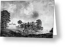 Mount Vernon, 1798 Greeting Card