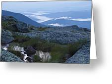 Mt. Washington Blue Hour Greeting Card