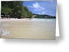 Nai Yang Beach Phuket Island Thailand Greeting Card
