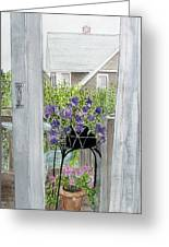 Nantucket Room View Greeting Card