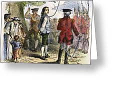 Nathan Hale (1755-1776) Greeting Card