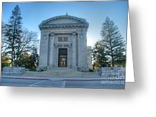 Naval Academy Chapel Greeting Card