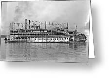 New Orleans Steamboat Greeting Card