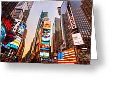 New York City - Times Square Greeting Card