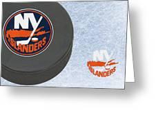 New York Islanders Greeting Card