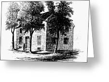 New York Senate, 1777 Greeting Card