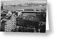 New York Water Street Greeting Card