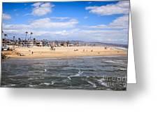 Newport Beach In Orange County California Greeting Card