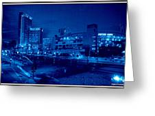 Night Shoot Greeting Card by JJ Cross