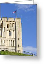 Norwich Castle Greeting Card by Tom Gowanlock