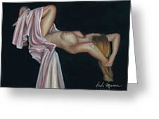 Nude Greeting Card by Leida  Nogueira