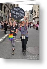 Nyc Gay Pride 2011 Greeting Card