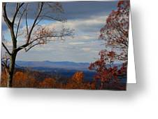 October View Greeting Card