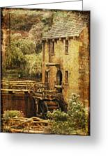 Old Mill In Arkansas Greeting Card