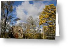 Old Sigulda Castle Ruins Greeting Card