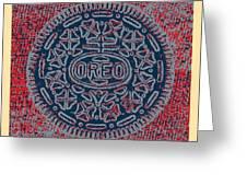 Oreo In Hope1 Greeting Card