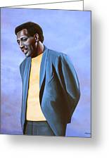 Otis Redding Painting Greeting Card