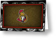 Ottawa Senators Greeting Card