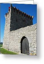 Ourem Castle Greeting Card