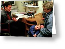 Paediatric Consultation Greeting Card