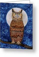 Paisley Moon Greeting Card